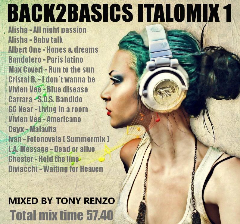 Back2Basics Italo Mix  1 Tony Renzo