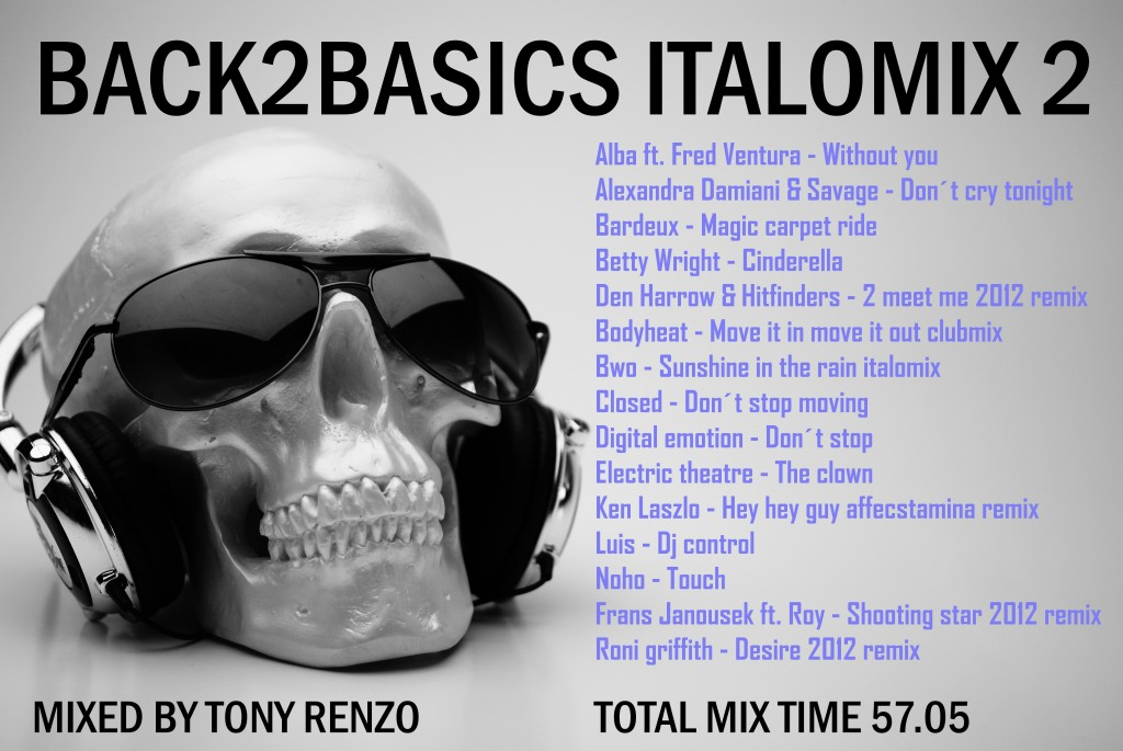 Back2Basics Italo Mix 2 Tony Renzo