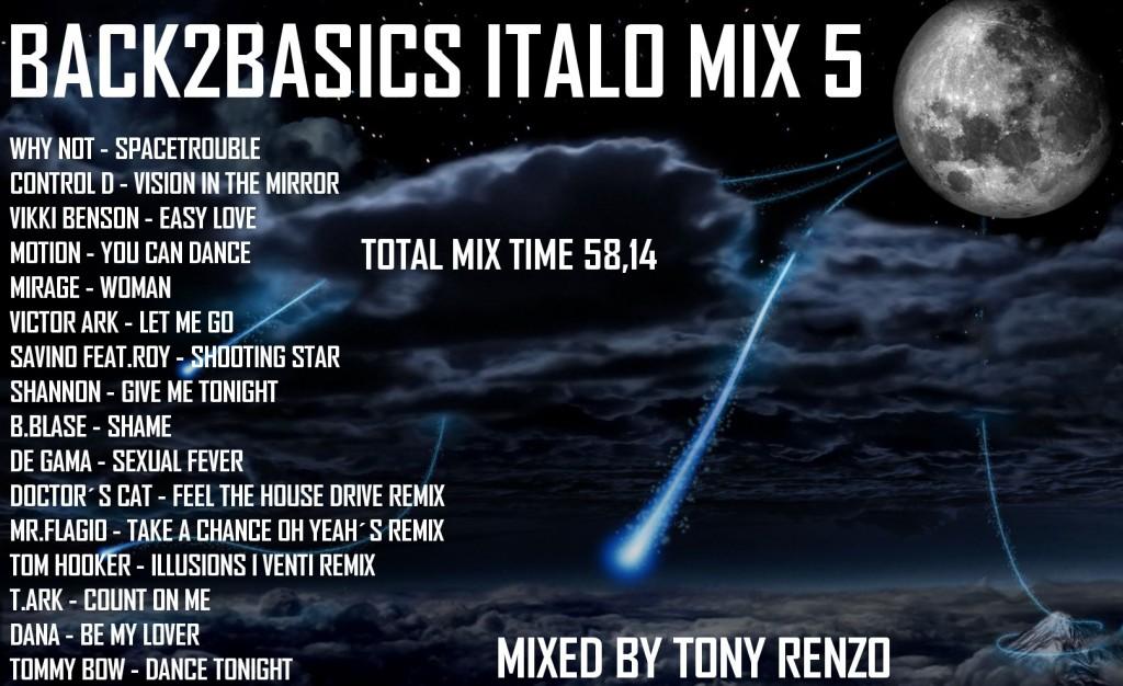 Back2Basics Italo Mix 5 Tony Renzo