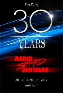 30 jaar Radio Stad Feest 30 juni 2012