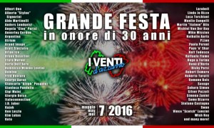 I Venti dAzzurro 30 Anni Party 20160507