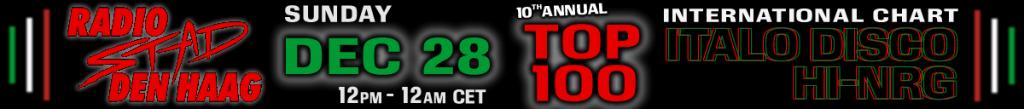 Radio Stad Den Haag Top 100 2014